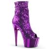 ADORE-1008SQ Purple Sequin/Chrome